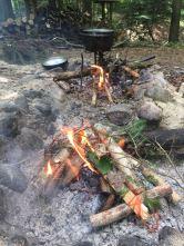 Ritualfeuer und Kochfeuer